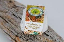 Festes Shampoo Sandelholz von Sauberkunst Seifenmanufaktur