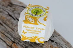 Festes Shampoo Mango-Lassi von Sauberkunst Seifenmanufaktur