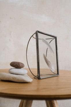 Bilderrahmen Metall und Glas von Deknudt