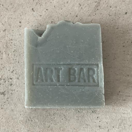 Limitierte Art Bar Seife Black Carbon mit limitiertem Art Print von Jen Black, atelier.91