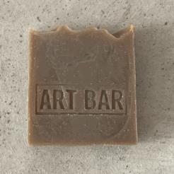 Limitierte Art Bar Seife Black Seed mit limitiertem Art Print von Jen Black, atelier.91