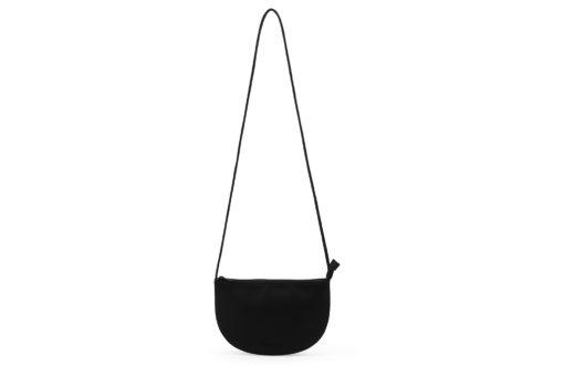 Farou half moon bag black von monk & ANNA